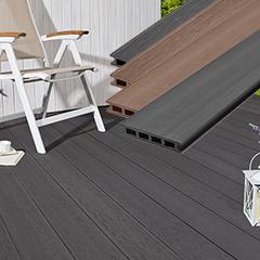 Produktbild WPC-Terrassendiele Hohlkammer braun, 25 x 140 x 3000