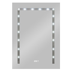 "Produktbild LED Lichtspiegel ""Timelight"""