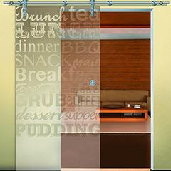 Produktbild Glastürblatt für Küche & Co.
