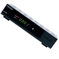 Produktbild AX 300 schwarz HDTV-Receiver