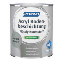 Produktbild RENOVO Acrylbodenbeschichtung 2,5L Mix Basis 1