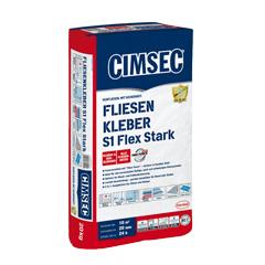 Produktbild CIMSEC Fliesenkleber S1 Flex Stark