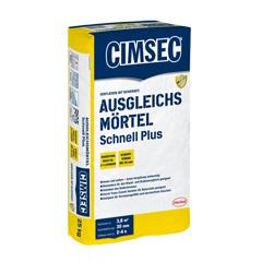 Produktbild CIMSEC Ausgleichsmörtel Schnell Plus