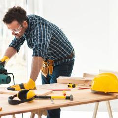 Werkzeug und Arbeitsschutz