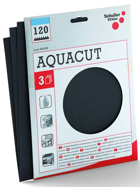 Produktbild 3x Wasserschleifpapier, EASYCUT