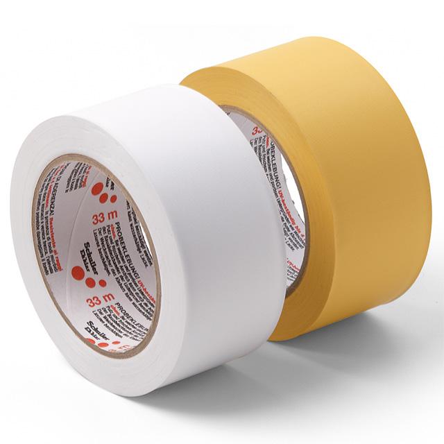 Produktbild Bauklebeband PVC, quergerillt