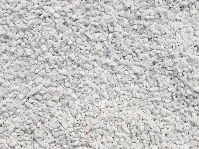 Produktbild Marmorsplitt, Carrara-Weiß
