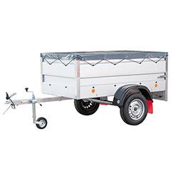 Produktbild Anhänger LPA 206 U-B Set Aw 360 cm, FP und Strd.