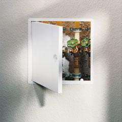 Produktbild Revisionstür 600x600 mm weiß Vierkantverschluss