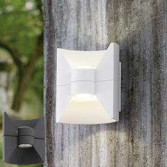 """Produktbild LED-Außen-Wandleuchte """"Redondo"""" anthrazit"""
