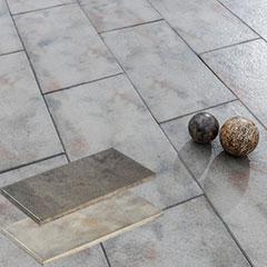 Produktbild Bargas Terrassenplatte 80x40x4 cm muschelkalk