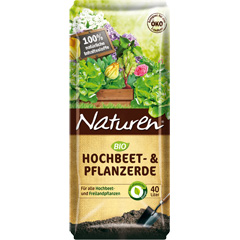 Naturen Bio Hochbeet- und Pflanzerde