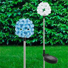 Eglo LED-Solarspieß Perlen