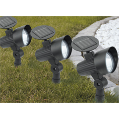 Eglo LED-Solarleuchte 3er Set