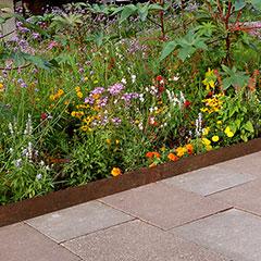 Rasen-, Beet- und Trennkante