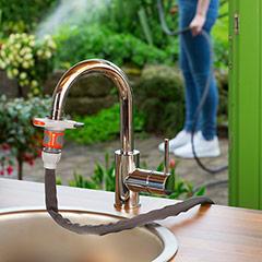 Gardena Hahnverbinder für Indoor-Wasserhähne
