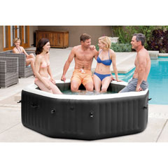 "Whirlpool ""Pure SPA 79"" Octagon – Bubble, Jet & Salzwassersystem"