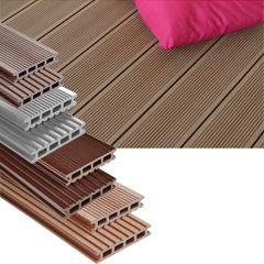 Produktbild Terrassendiele Kundenlänge 26x145 mm braun matt