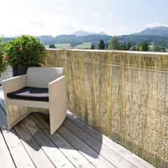 Produktbild Sichtschutzmatte Schilfrohr120x600 cm
