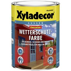 Produktbild Consolan Wetterschutzfarbe 750 ml,  moosgrün