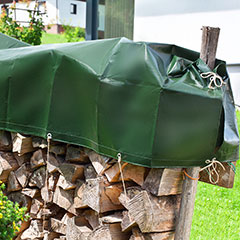 Produktbild Holz-Abdeckplane 1,5x6 m