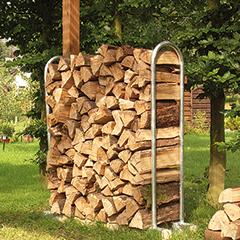 Produktbild Kaminholzstapelhilfe H x B 1470 x 240 mm