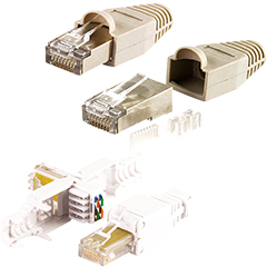 Produktbild Cat 6-Netzwerk-Doppelkupplung