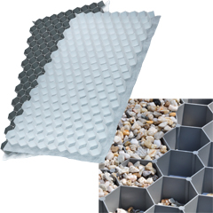 Produktbild Kiesbefestigungsmatte grau