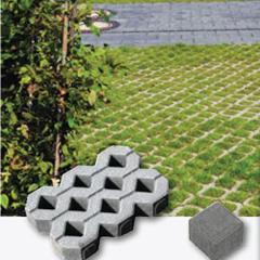 Produktbild Rasengitterplatte grau