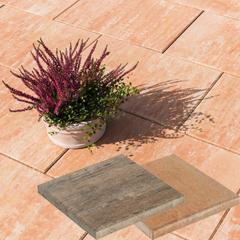 Produktbild Loreta Terrassenplatte 40x40x4 cm sandstein