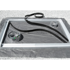 Kunststoff-Formkante