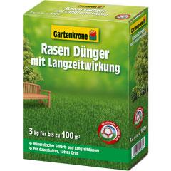 Gartenkrone Rasendünger mit Langzeitwirkung