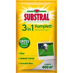 Substral 3 in1 Komplett Rasendünger