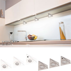 "Produktbild LED- ""Trios Sensor"", 3er-Set silber"