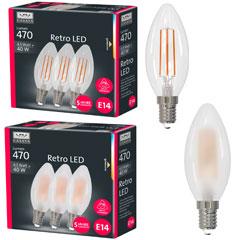 Produktbild LED Kerzenform Retro HD 3er Set4,5 W