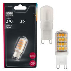 Produktbild LED G9G9 3W 270LM 2700K 29W-Ersatz