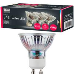 Produktbild LED Reflektor GU10 3er Set 4W