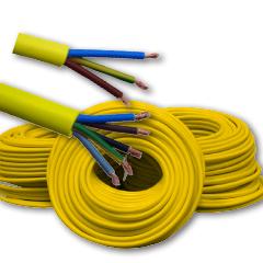 Produktbild Baustellenleitung XYMM-J 5 x 1,5 gelb 50 m Bund