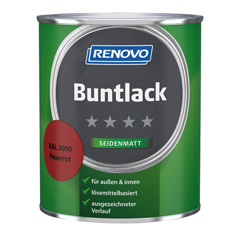 Produktbild RENOVO Seidenmattlack 750ml Mix Basis 1
