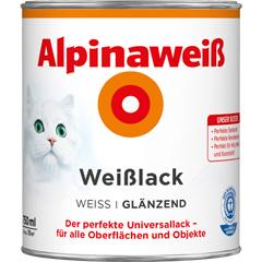 Produktbild Alpinaweiss Weisslack glänzend125ml