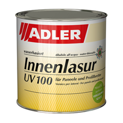 Produktbild ADLER Innenlasur UV 100 750ml farblos tönbar