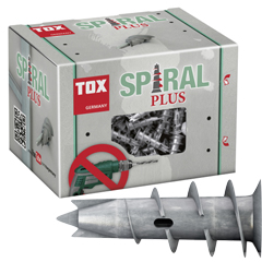 Produktbild Hohlraumdübel Spiral Plus mit Schraube