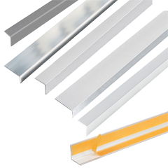Produktbild Winkelprofil Weiß, 2,6 m lang