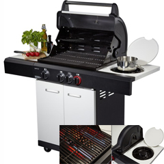 Produktbild Mr.GARDENER Gasgrill Seattle 3 R