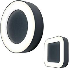 Produktbild LED-Außenwand- oder Deckenleuchte rund