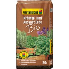 Gartenkrone Bio Kräuter- und Aussaat Erde