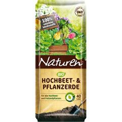 Produktbild Bio Hochbeet und Pflanzerde