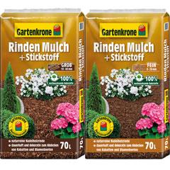 Gartenkrone Rindenmulch