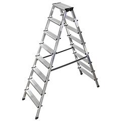 Produktbild Stufen-Doppelleiter 2x4 Stufen