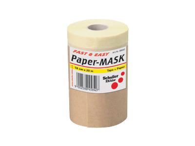 Produktbild Abdeckpapier Paper-Mask Ersatzrolle 20m 45842 18 cm